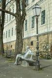 A estátua de Antun Gustav Matos em Zagreb Fotografia de Stock