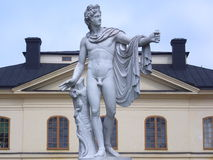 Estátua de Apollo Fotografia de Stock Royalty Free
