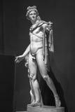 Estátua de Apollo Belvedere fotografia de stock