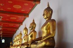 Estátua de assento de buddha Fotos de Stock