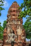 Estátua de Ayutthaya buddha Imagens de Stock