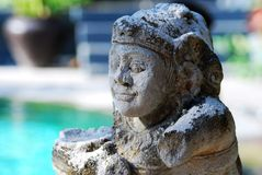Estátua de Bali Foto de Stock
