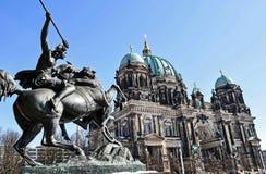 Estátua de Berlim Imagens de Stock Royalty Free