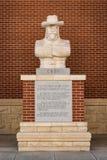 Estátua de Bill Cody do búfalo Fotografia de Stock