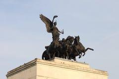 Estátua de Boadicea fotos de stock royalty free
