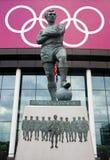 Estátua de Bobby Moore Foto de Stock Royalty Free