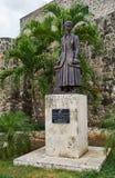 Estátua de bronze Imagens de Stock