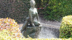 Estátua de bronze Foto de Stock