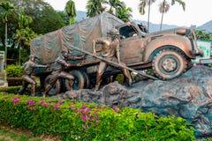 Estátua de bronze Fotos de Stock