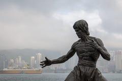 Estátua de bronze imagens de stock royalty free