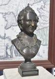Estátua de bronze da imperatriz Catherine do russo II Imagens de Stock Royalty Free