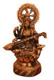 Estátua de bronze de Saraswati. Imagens de Stock Royalty Free