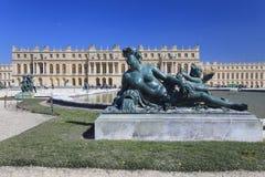 Estátua de bronze em Versalhes, France Foto de Stock Royalty Free