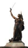 Estátua de bronze, france Imagens de Stock Royalty Free
