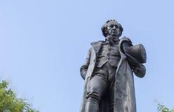 Estátua de bronze de Francisco de Goya imagem de stock