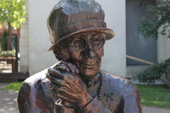 Estátua de bronze Louise McKinney Imagens de Stock Royalty Free