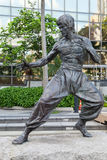 Estátua de Bruce Lee, jardim das estrelas Fotos de Stock