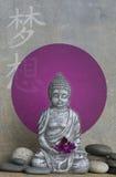 Estátua de Buddha ilustração royalty free