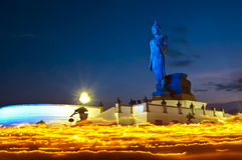 estátua de buddha. Fotografia de Stock Royalty Free
