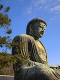 Estátua de Buddha em Kamakura, Japão foto de stock
