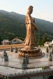 Estátua de Buddha em Kek Lok Si Malaysia Fotografia de Stock