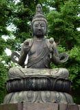 Estátua de Buddha em Tokyo fotos de stock royalty free