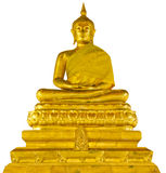 Estátua de Buddha isolada Imagens de Stock