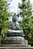 estátua de buddha no templo do senso-ji em Asakusa, Tóquio, Japão Imagens de Stock Royalty Free