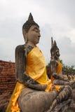 Estátua de Buddha no wat do chaimongkol de yai Fotos de Stock