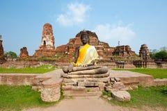 Estátua de Buddha - Tailândia Fotografia de Stock