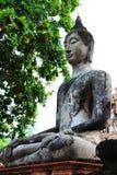 Estátua de Buddha [Wat Mahathat] Fotografia de Stock Royalty Free