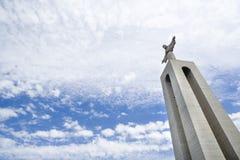 Estátua de Christ fotos de stock