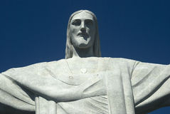 Estátua de Christ, Rio de Janeiro, Brasil Foto de Stock