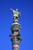 Estátua de Christopher Columbo, Barcelona (Spain) Imagem de Stock