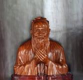 Estátua de Confucius imagem de stock royalty free