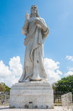 Estátua de Cristo em Casablanca, Havana, Cuba fotos de stock