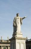 Estátua de Dante imagem de stock royalty free