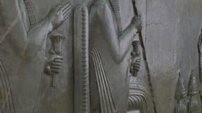 Estátua de Darius video estoque