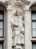 Estátua de Dunstan de Saint, Londres Fotos de Stock Royalty Free
