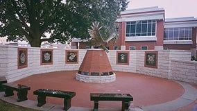 Estátua de Eagle Fotografia de Stock Royalty Free