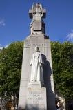 Estátua de Edith Cavell em Londres. Imagem de Stock