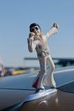 Estátua de Elvis fotografia de stock