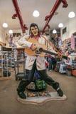 Estátua de Elvis Presley fotografia de stock royalty free