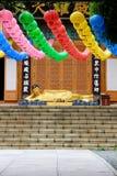 Estátua de encontro da Buda Imagens de Stock