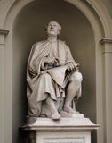 Estátua de Filippo Brunelleschi por Luigi Pampaloni era um arquiteto e um escultor italianos famosos do renascimento Fotos de Stock Royalty Free