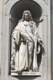 Estátua de Francesco Redi, Florença, Itália Fotografia de Stock Royalty Free