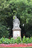 Estátua de Franz Schubert Vienna imagem de stock royalty free