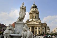 Estátua de Friedrich Schiller Imagem de Stock Royalty Free