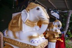 Estátua de Ganesh no templo de india Imagens de Stock Royalty Free
