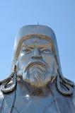 Estátua de Genghis Khan fotos de stock royalty free
